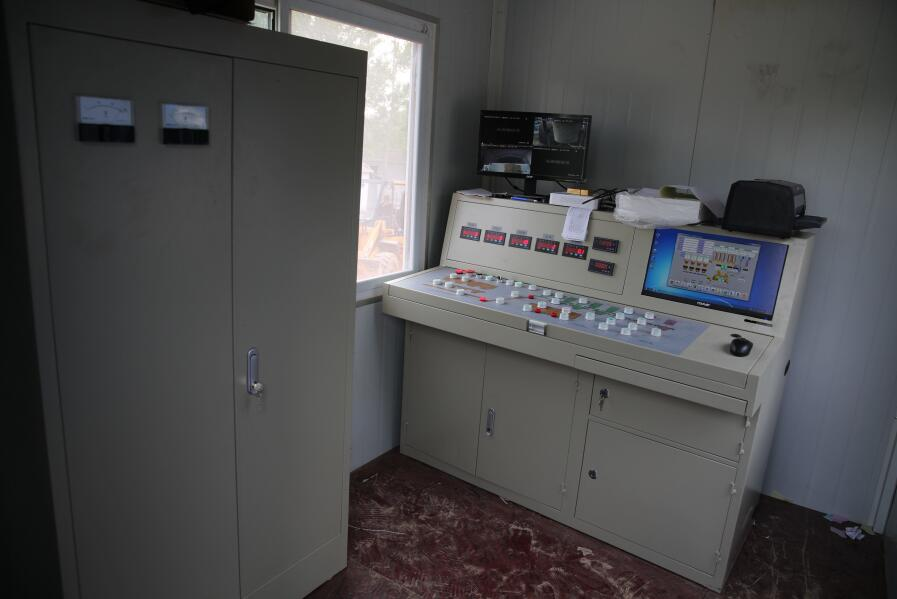 长城建机混凝土搅拌站控制系统