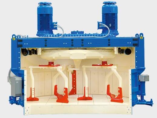 立轴混凝土搅拌机内部结构