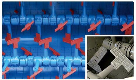 双轴混凝土搅拌机内部结构
