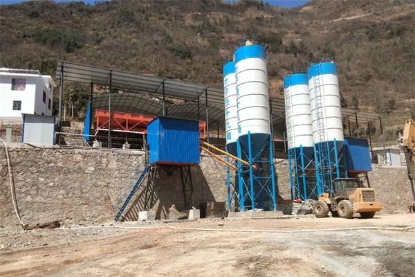 混凝土搅拌站都包含哪些组件