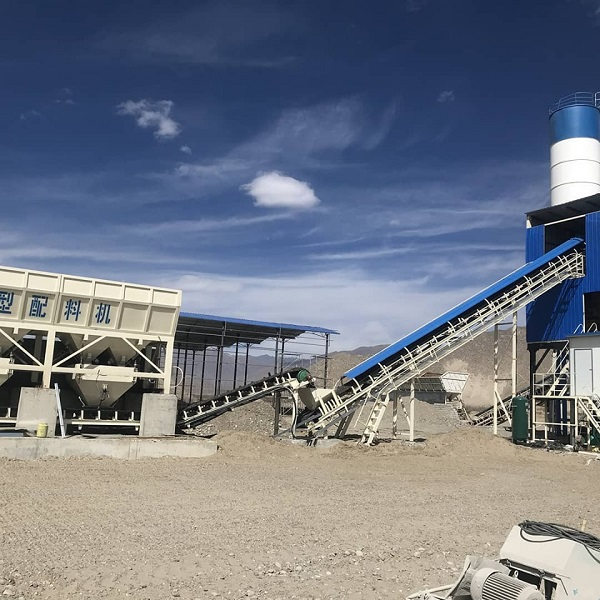 concrete batching plant Hydraulic system