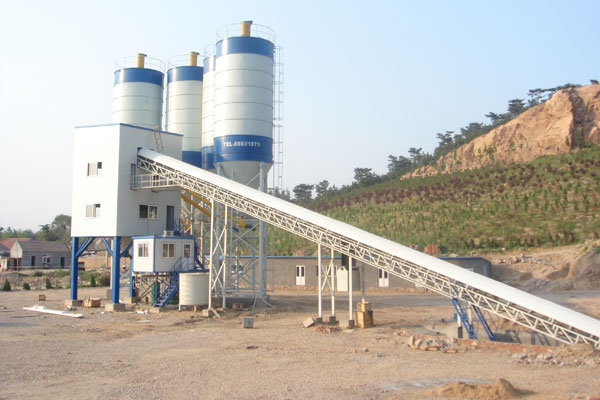 Concrete Batching Plant Process Flow