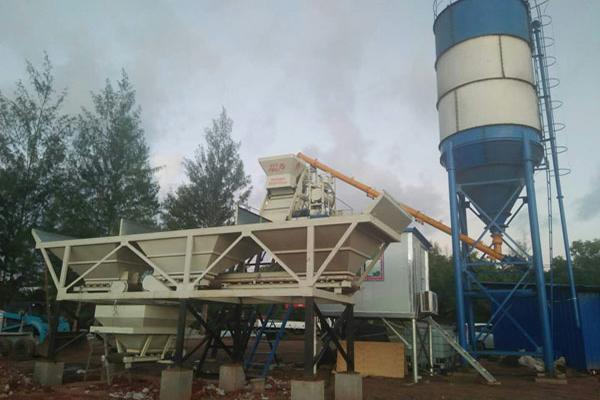 帕劳混凝土生产线