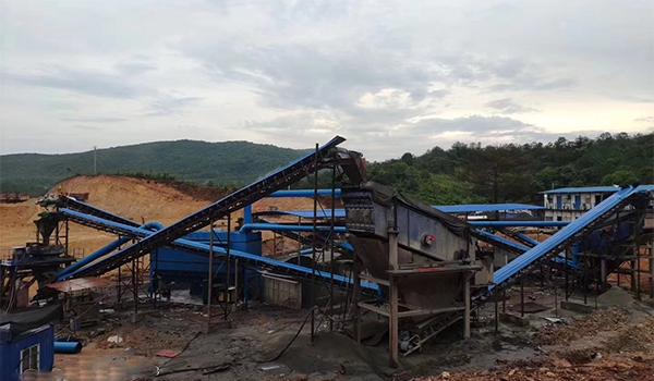 河源机制砂生产线