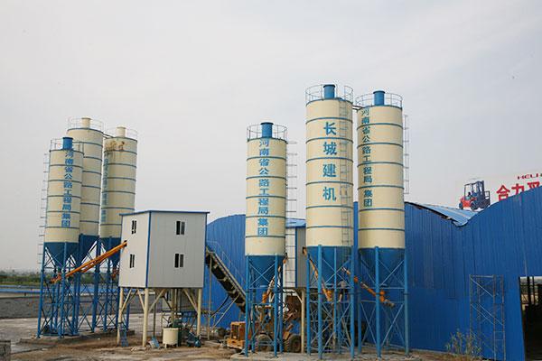 商品混凝土搅拌站和工程混凝土搅拌站的区别