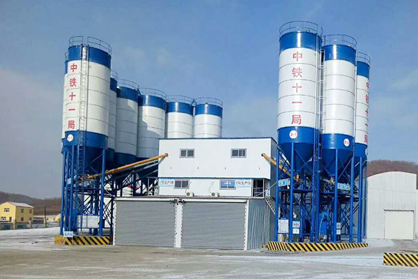 environmental friendly concrete batching plant
