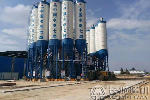 high speed railway batching plant