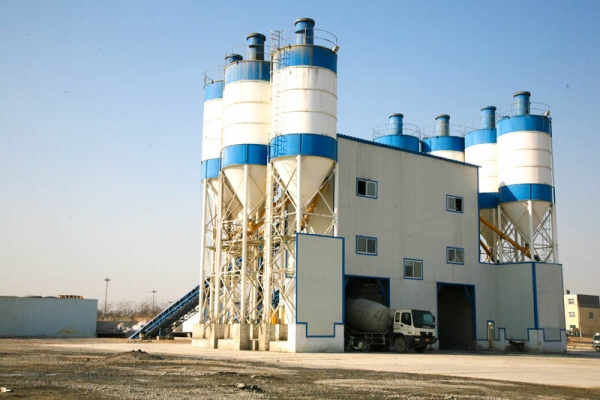 How about investing in concrete batching plant