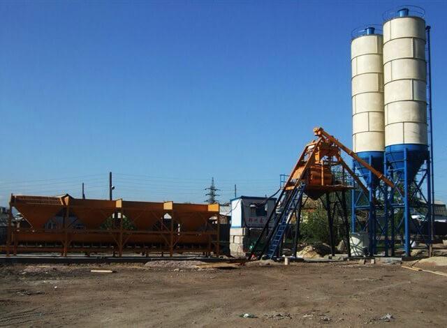 HZS25型混凝土搅拌站