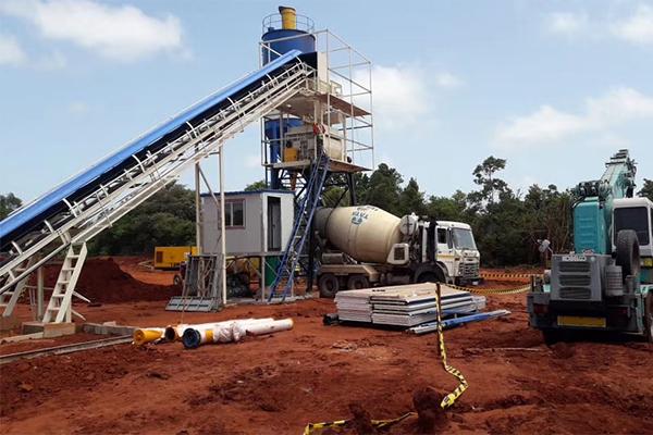 斯里兰卡混凝土生产线