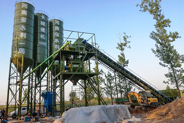 hzs90 concrete plant of camelway
