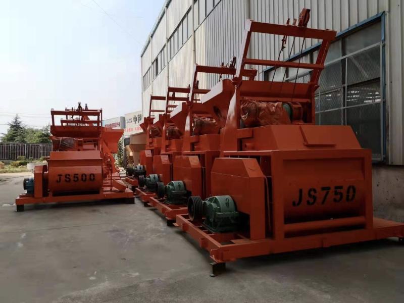 JS500和JS750搅拌机