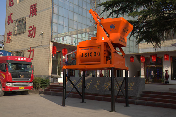 JS1000型双卧轴混凝土搅拌机