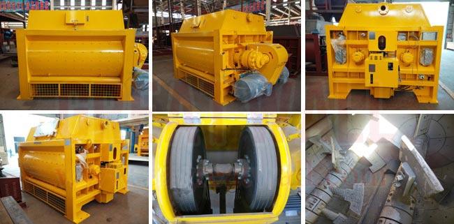 混凝土搅拌机是生产混凝土的主要设备