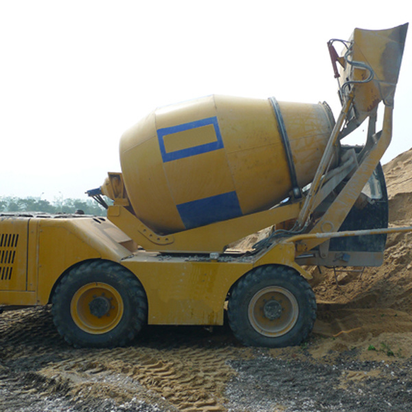 self loading concrete bacthing plant