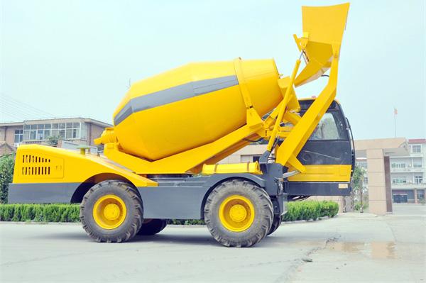 自装卸混凝土搅拌车