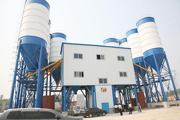 twin hzs180 concrete plant