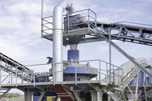 贵州立轴反击式制砂生产线