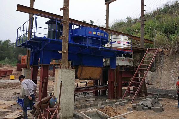 甘肃制砂生产线